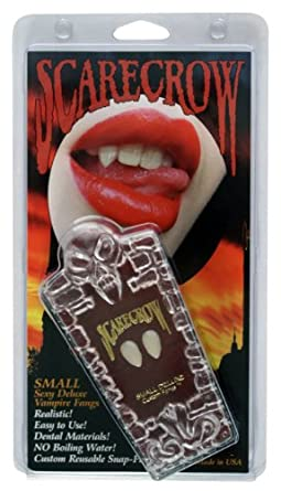Low Price Scarecrow SMALL Realistic Deluxe Custom Fangs Box