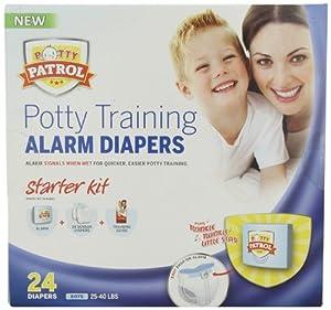 Potty Patrol Boys Starter Kit, 24 Count