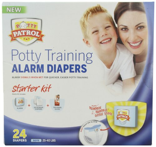 Potty Patrol Boys Starter Kit, 24 Count