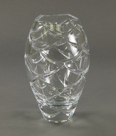 Cheap Vases Faberge Pine Cone Crystal Petite Vase