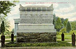 1910 Vintage Postcard - The Memorial at Arlington Cemetery - Washington DC