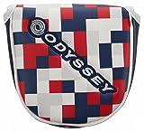 ODYSSEY(オデッセイ) Odyssey Graphic パターカバー Neo Malletタイプ ユニセックス 5515297 ホワイト/ネイビー/レッド