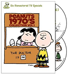 Peanuts 1970s Collection Vol 1 Its A Mystery Charlie Brown Play It Again A Charlie Brown Thanksgiving Its The Easter Beagle Theres No Time For Love Youre Not Elected from Warner Home Video