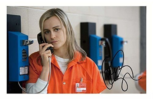 Taylor Schilling - Orange Is The New Black Signed Autographed 21cm x 29.7cm A4 Photo Poster by ES [並行輸入品]