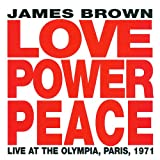 Love Power Peace Live in Paris James Brown