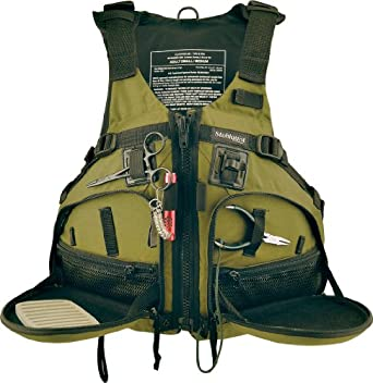 Stohlquist fisherman personal floatation for Kayak fishing vest