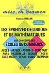 Epreuve de Logique & de Mathematiques...