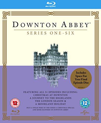 Downton Abbey (Series 1-6) - 19-Disc Box Set ( Downton Abbey - Series One to Six (51 Episodes) ) [ NON-USA FORMAT, Blu-Ray, Reg.B Import - United Kingdom ]