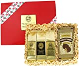 Cookies and Kona Hawaiian Coffee Gift for Santas Elves! Christmas Coffee Gift, Ground Coffee, Brews 36 Cups