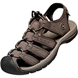 Atika Men's sport sandals tesla Orbital & Cairo