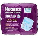 Huggies  Large Size Wonder Pants (60 Count)