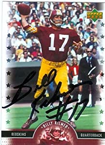 Billy Kilmer autographed Football Card (Washington Redskins) 2005 Upper Deck Legends... by Autograph Warehouse
