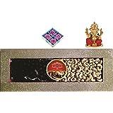 Skylofts 250gms Cashew Nuts, 250gms Chocolate Coated Nut Butterscotch Diwali Combo With 4pc Diya Set & Ganeshji...