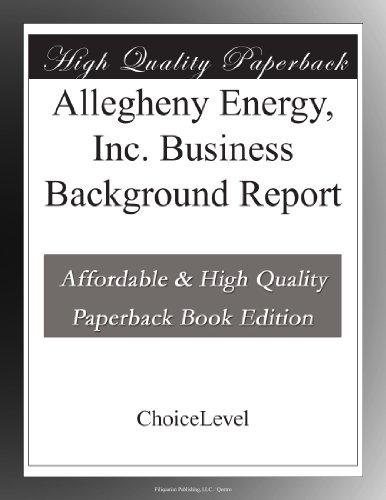 Allegheny Energy 0000003673