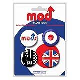 サブカル『Mod』缶バッジ4個セット