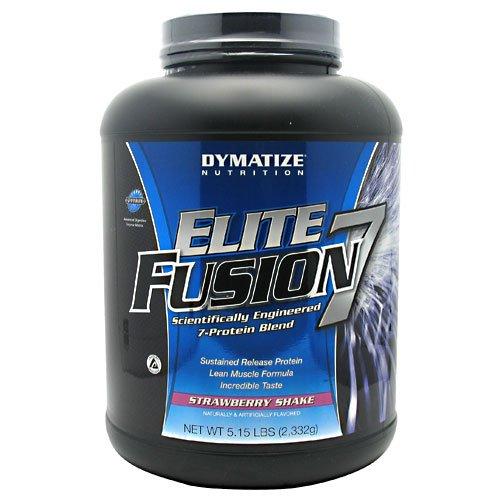 Dymatize Nutrition Elite Fusion, Strawberry Shake, 5.15-Pound