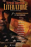 img - for African American Literature: A Concise Anthology From Frederick Douglass to Toni Morrison book / textbook / text book