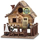 Gifts & Decor Wood Yacht Club Nautical Bird House/Feeder (Discontinued by Manufacturer)