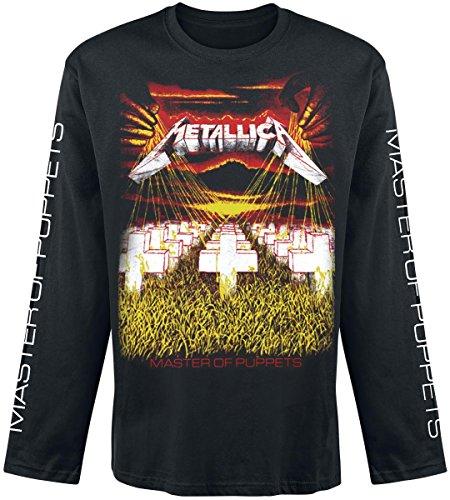 Metallica Master Of Puppets Manica lunga nero L