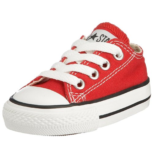 Converse Boys' Infant/Toddler Chuck Taylor All Star Ox - Red - 6 Tod
