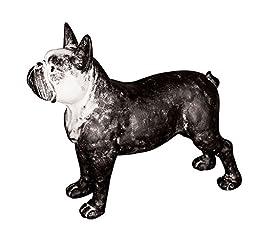 Creative Co-Op Resin Bull Terrier