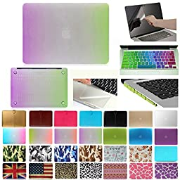 Coosbo - 5in1 Matte Patterns Hard Case Cover for 13\