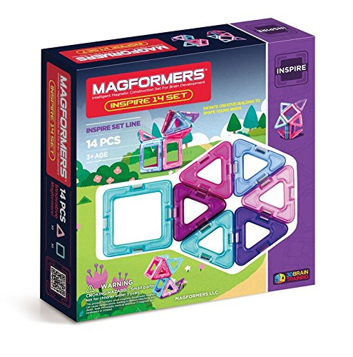 Magformers Inspire Set (14-pieces) JungleDealsBlog.com