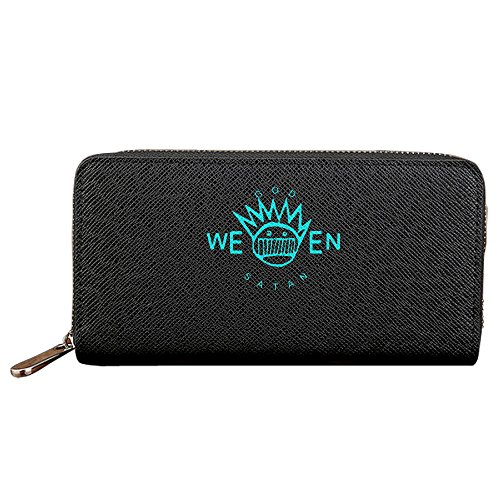 Ween Long Personality Clutch Bag With Zipper Closure