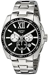 Esprit Chronograph Black Dial Mens Watch - ES103591004
