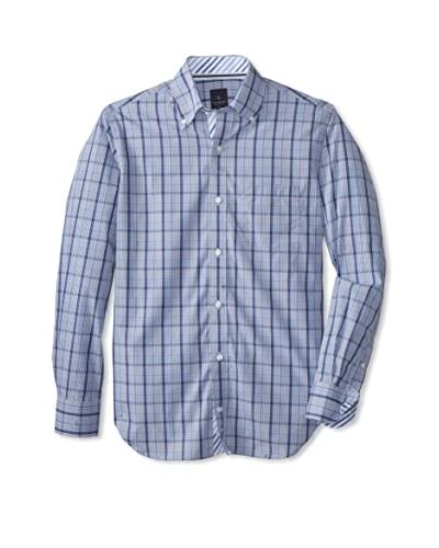 TailorByrd Men's Marville Plaid Long Sleeve Shirt