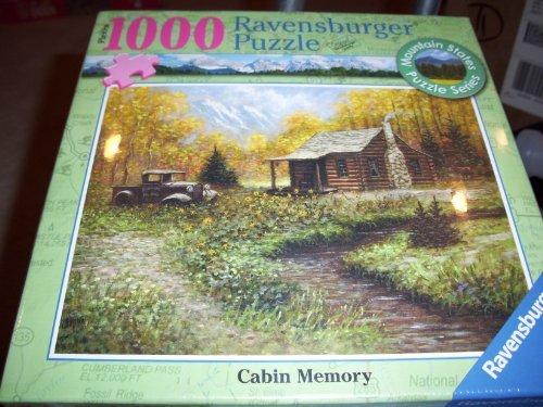 Ravensburger-Cabin-Memory-Puzzle-1000-Pieces-Mountain-States-Puzzle-Series