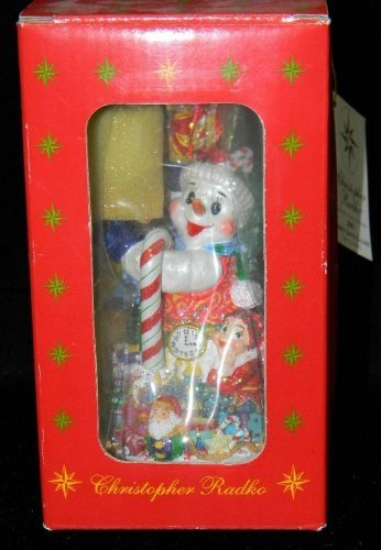 christopher-radko-2001-frosty-gifts-galore-ornament-1st-in-series-marshall-fields-exclusive-by-chris