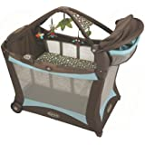 Graco Pack 'n Play Modern Playard with Play Mat, Shout (Discontinued by Manufacturer)