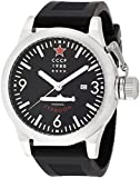 CCCP CP-7018-01 Typhoon Men's Silicon Watch - Silver