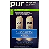 Pur Refrigerator Ice & Water Filter Bottom Freezer F4PC6C1 (2 Pack)