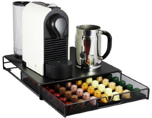decobros coffee pod packs storage mesh drawer holder organizer nespresso capsule ebay. Black Bedroom Furniture Sets. Home Design Ideas