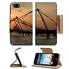 buy Pulled Up Fish Nets Hoovering Over Ocean Apple Iphone 5 Flip Cover Case With Card Holder Customized Made To Order Support Ready Premium Deluxe Pu Leather 5 3/16 Inch (132Mm) X 2 11/16 Inch (68Mm) X 9/16 Inch (14Mm) Msd Iphone 5 Professional Cases Touch Id