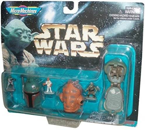 Star Wars Micro Machines Mini w Boba Fett Admiral Ackbar & Gamorrean Guard