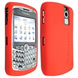 Red High Quality Soft Silicone For Blackerry Curve 8300 8310 8320 8330 Case Cover