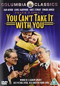 You Can T Take It With You Reino Unido Dvd Amazon Es