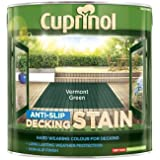 Cuprinol 2.5L Anti Slip Decking Stain - Vermont Green