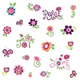 RoomMates RMK1649SCS Love, Joy, Peace Peel & Stick Wall Decals
