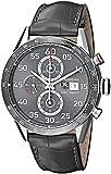 TAG Heuer Men's CAR2A11.FC6313 Carrera Analog Display Swiss Automatic Grey Watch