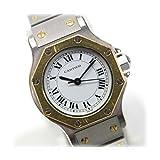 [カルティエ]Cartier サントス オクタゴン レディース腕時計 SS/YG 自動巻き [中古]