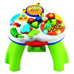 Chicco 41 cm Talking Garden Activity Table Musical Bilingual Illuminating Toy