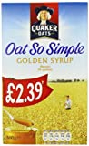 Quaker Oat So Simple Golden Syrup 360 g (Pack of 5)