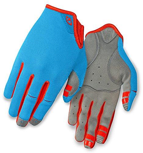 Giro LA DND Women's Gloves Blue Jewel/Glowing Red, M