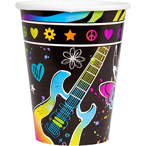 Neon Birthday 9oz Cups