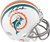 Larry Csonka Miami Dolphins Autographed Riddell Throwback Mini Helmet - Fanatics Authentic Certified