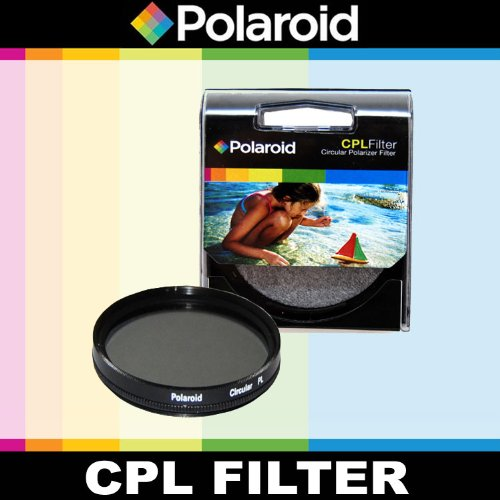 Polaroid Optics CPL Circular Polarizer Filter For The Canon Digital EOS Rebel T3, T3i, T1i, T2i, XSI, XS, XTI, XT, 60D, 50D, 40D, 30D, 20D, 10D, 5D, 1D, 5D Mark 2, 7D Digital SLR Cameras Which Has This (18-135mm, 17-85mm, 70-300mm L) Canon Lens